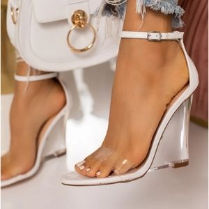 Clear Wedges - Miss Lola